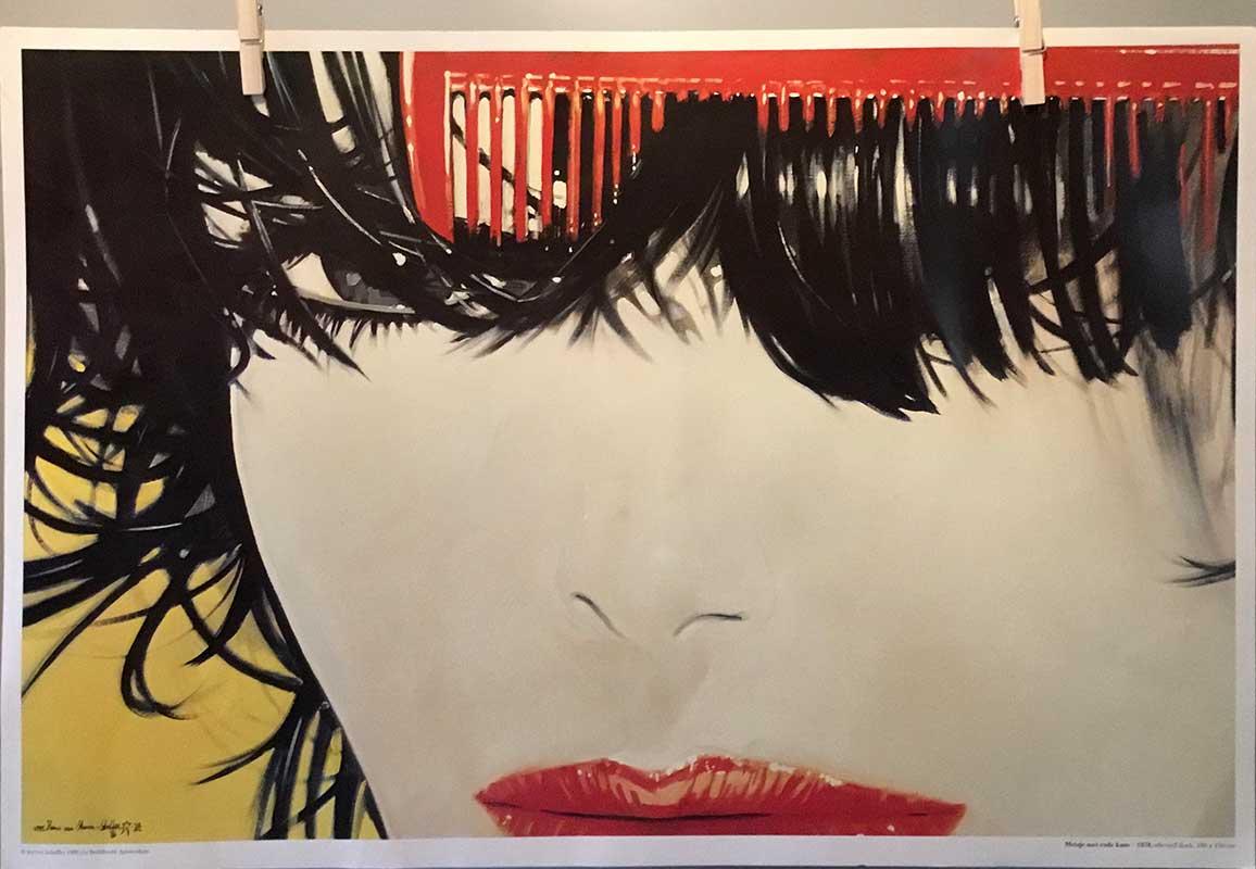 Steven Scheffer - Meisje met rode kam (1978)
