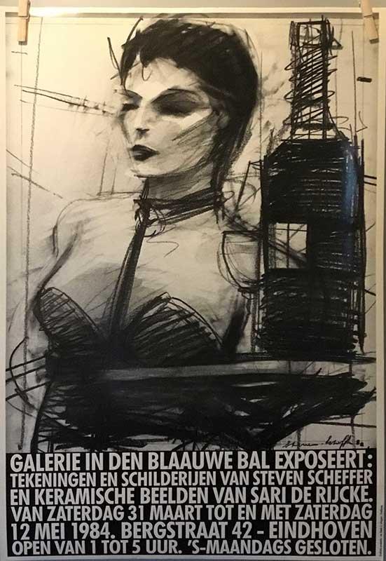 Steven Scheffer - Galerieposter