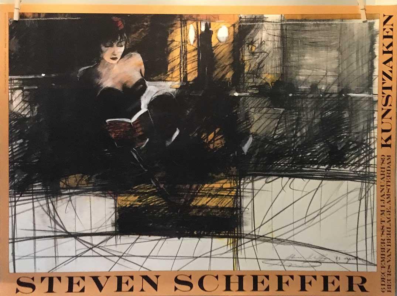 Steven Scheffer - Lezende vrouw