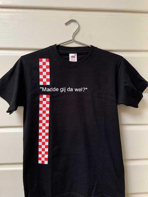 Heren t-shirt Madde gij da wel