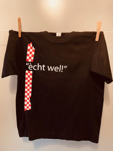 Kinder t-shirt ècht wel!