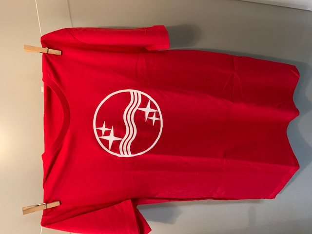 Heren t-shirt Philips rood